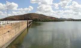 Quixeramobim - Quixeramobim-CE-Ponte e a Barragem-Foto:Walter F Leite
