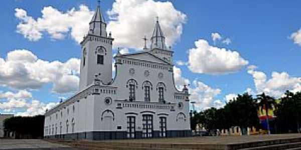 Quixeramobim-CE-Matriz de Santo Antônio de Pádua-Foto:ARAGÃO