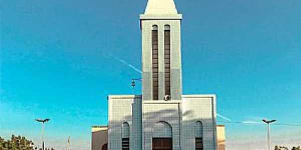 Riacho Grande-CE-Igreja Matriz-Foto:Mirella Rodrigues