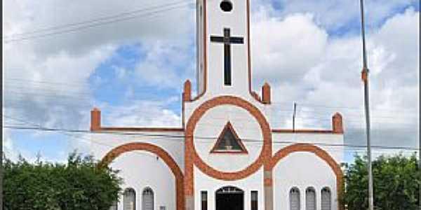 Riacho Verde-CE-Igreja de São João Batista-Foto:Antonio Arthur Bilíca