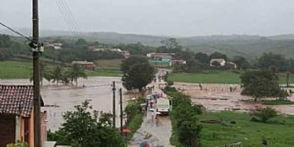 Riacho Verde-CE-Vista do distrito-Foto:Facebook
