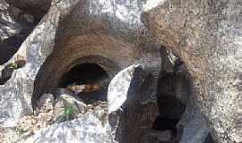 Saboeiro - Saboreio-CE-Rochas emCaldeirões-Foto:www.cidade-brasil.com.br