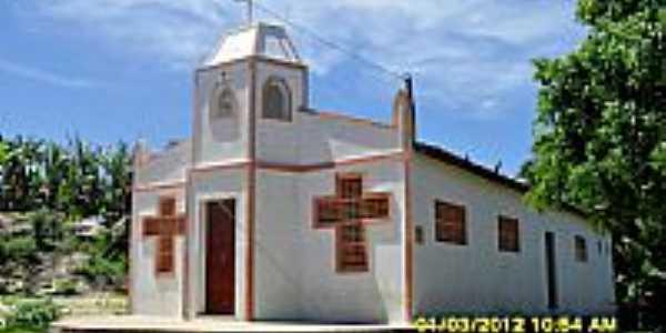 Igreja em Santarém-CE-Foto:WLuiz