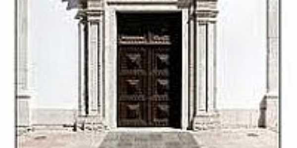 Pórtico da Igreja de N.Sra.da Piedade em Santarém-CE-Foto:flickeflu.