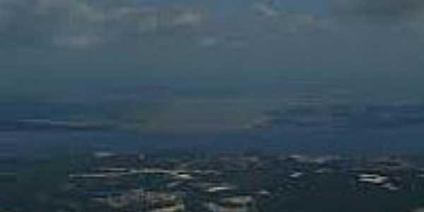 Vista aérea de Santarém-CE-Foto:interney.