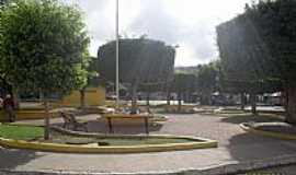 São José da Laje - Praça Clarício Valença em São José da Laje-Foto:Sergio Falcetti