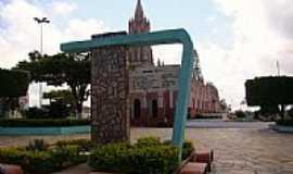 São Benedito - Praça da Igreja Matriz de São Benedito foto Helder Fontenele