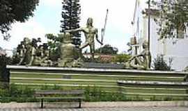 São Benedito - Praça dos Índios em São Benedito-Foto:Alessandro Frota