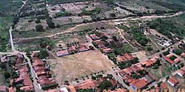 São Domingos-CE-Vista panorâmica do Distrito -Foto:fernando mendes