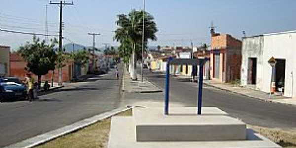 São José da Tapera-AL-Avenida central-Foto:Toni Abreu