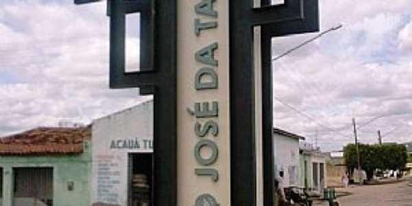São José da Tapera-AL-Trevo de acesso-Foto:jacsontapera.xpg.uol.com.br