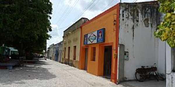 São Gonçalo do Amarante-CE-Casario na Praça da Matriz-Foto:Edson Gomes