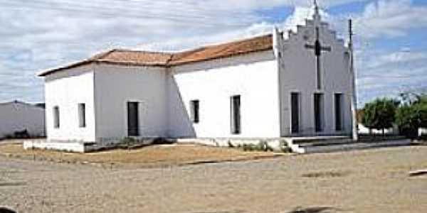São João dos Queiroz-CE-Igreja de São João Batista-Foto:Wikipedia