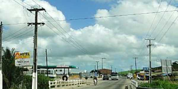 São Luis do Quitundé-AL-Ponte na entrada da cidade-Foto:carlos henrique da silva