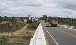 São Luís do Curu - Ponte na saída de São Luiz do Curu-Foto:fwspineu