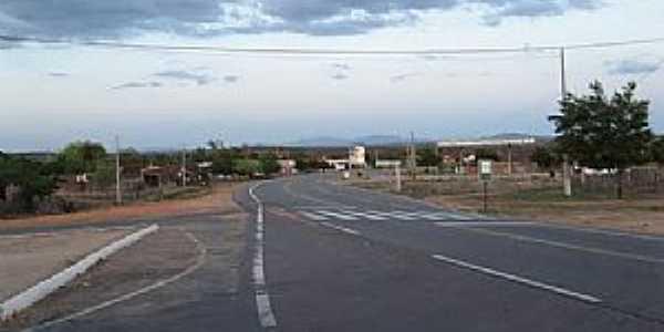São Miguel-CE-Entrada do distrito-Foto:Magno Lima