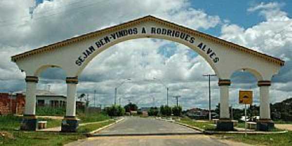 Rodrigues Alves-AC-Pórtico de entrada da cidade-Foto:Jezaflu Jesus