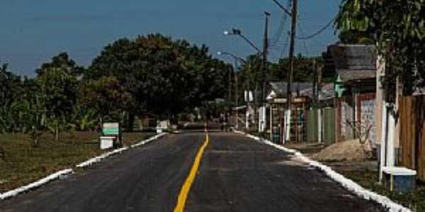 Rodrigues Alves-AC-Rua da cidade-Foto:Jezaflu Jesus