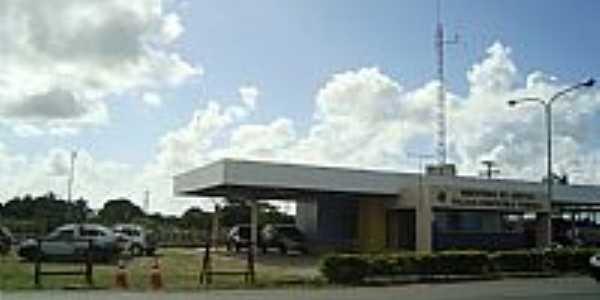 Posto da Polícia Rodoviária Federal em São Miguel dos Campos-AL-Foto:Herlanio Evangelista