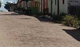 São Pedro - São Pedro-CE-Rua central da Vila-Foto:lindomarrodrigues