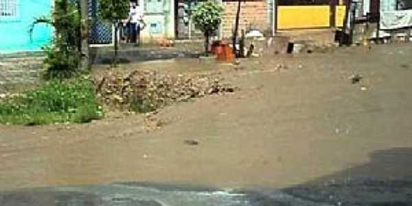São Pedro-CE-Rua central da Vila-Fot0: atemilson novais