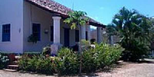 Vista lateral da casa-Foto:davicirino