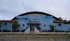 Sebastião de Abreu - Antigo Ginásio Poliesportivo, hoje Calçados Becker-Foto:Hedlund