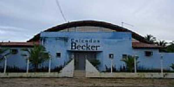 Antigo Ginásio Poliesportivo, hoje Calçados Becker-Foto:Hedlund