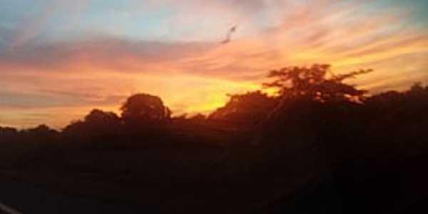 Serragem-CE-Lindo pôr do sol-Foto:César Argentino
