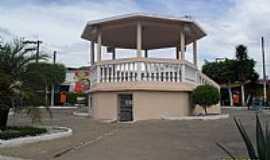 S�o Sebasti�o - Coreto na Pra�a Central de S�o Sebasti�o-Foto:Sergio Falcetti