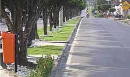São Sebastião - São Sebastião-AL-Avenida central-Foto:www.saosebastiao.al.gov.br