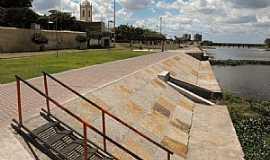 Sobral - Sobral-CE-Detalhe da margem esquerdado Rio Acaraú-Foto:Ivo Dias