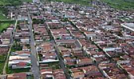 Tabuleiro do Norte - Tabuleiro do Norte-CE-Vista aérea da cidade-Foto:RobertoDaniell
