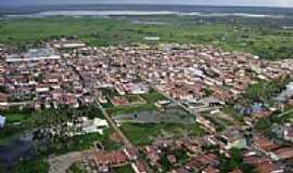 Tabuleiro do Norte - Tabuleiro do Norte-CE-Vista aérea do Riacho Quixerê-Foto:RobertoDaniell