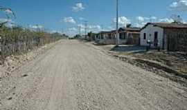 Tapuiara - Tapuiara-CE-Rua do Distrito-Foto:quixada.ce.gov.br