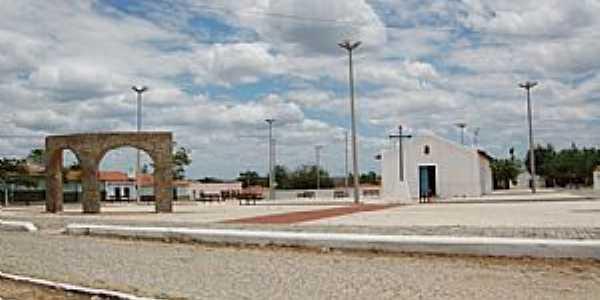 Tapuiará-CE-Nova praça no centro do distrito-Foto:Chico Javali