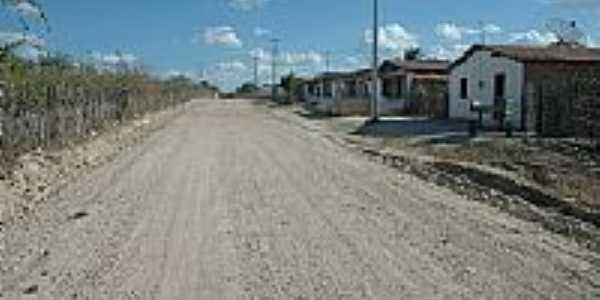 Tapuiara-CE-Rua do Distrito-Foto:quixada.ce.gov.br