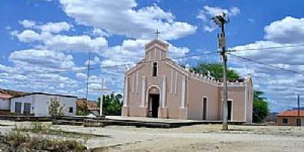 Targinos-CE-Igreja Matriz-Foto:WLuiz