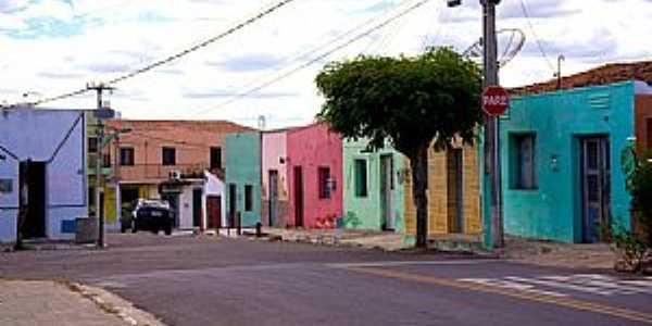 Tauá-CE-Casario no centro da cidade-Foto:ARAGÃO