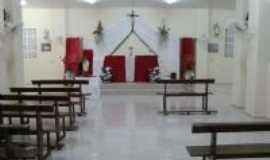 Tejuçuoca - Interior da capela de São Raimundo Nonato em Malaquias- Tejuçuoca, Por Fabio Farias Gomes