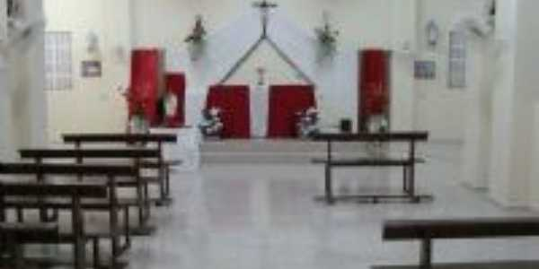 Interior da capela de São Raimundo Nonato em Malaquias- Tejuçuoca, Por Fabio Farias Gomes
