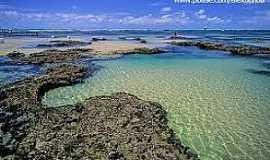 Trairi - Trairi-CE-Piscinas naturais na praia das Fleixeiras-Foto:www.pbase.com