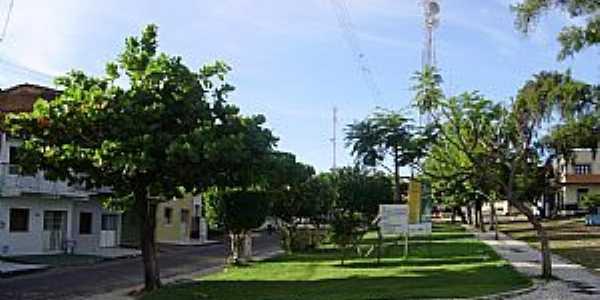 Trairi-CE-Praça central-Foto:THIAGO13SS
