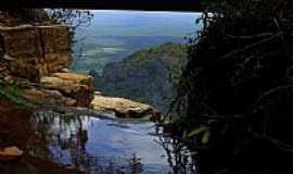 Ubajara - Ubajara-CE-Alto da Cachoeira do Cafundó-Foto:S. F. da Costa