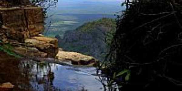 Ubajara-CE-Alto da Cachoeira do Cafundó-Foto:S. F. da Costa