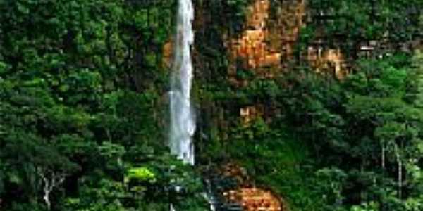 Ubajara-CE-Cachoeira do Cafund�-Foto:M�rcio Anderson