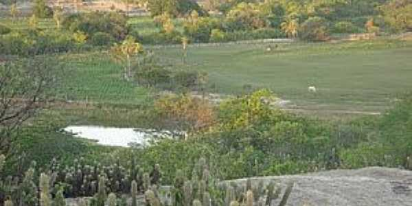 Uiraponga-CE-Lago na região-Foto:Radson Deyves Coelho
