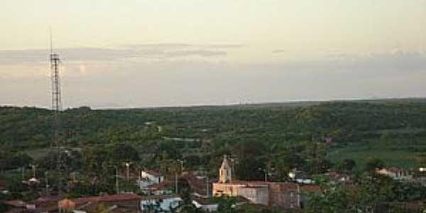 Uiraponga-CE-Vista do distrito-Foto:Radson Deyves Coelho