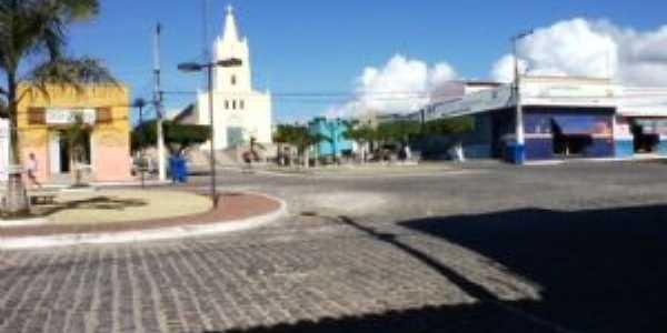 Essa é a igreja de Sto. Antonio de Pádoa Centro de Senador Rui Palmeira AL, Por José Vieira Santos