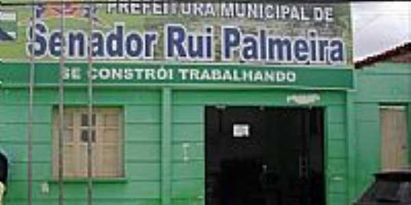Senador Rui Palmeira-AL-Prefeitura Municipal-Foto:Sergio Falcetti